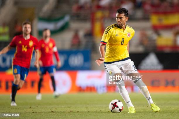 Abel Aguilar during a friendly match between national team of Spain vs Colombia in Nueva Condomina Stadium Murcia SpainWednesday June 7 2017