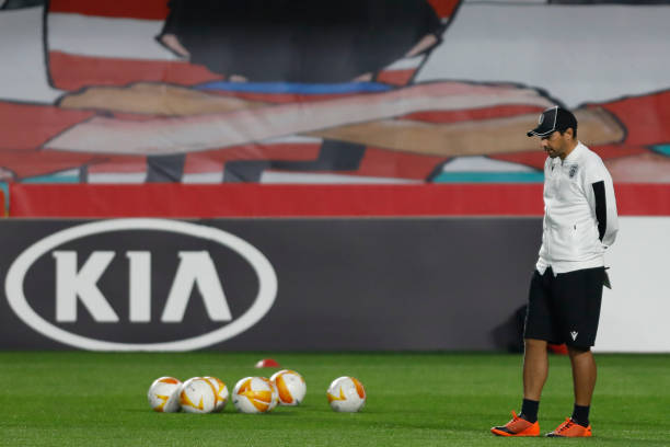 ESP: PAOK FC Training Session Before UEFA Europa League Match