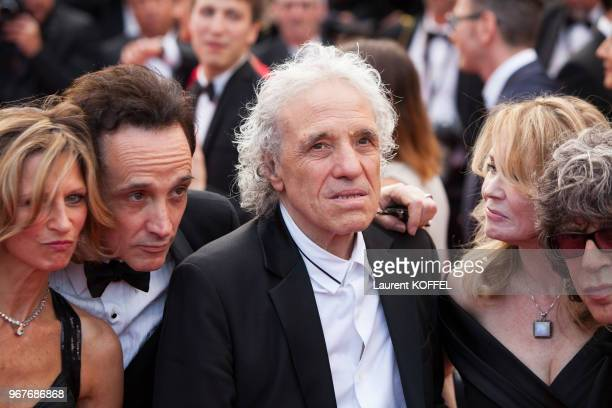 Abel Ferrara and guests attend the 'Twin Peaks' screening during the 70th annual Cannes Film Festival at Palais des Festivals on May 25 2017 in...