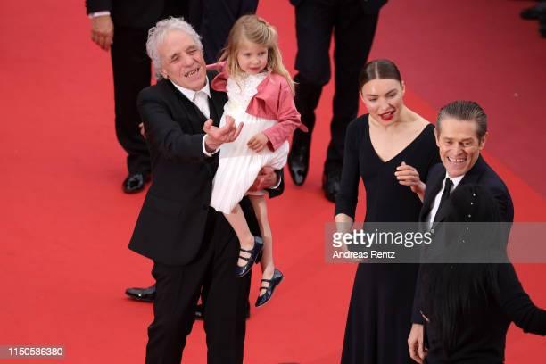Abel Ferrara Anna Ferrara Cristina Chiriac and Willem Dafoe attend the screening of La Belle Epoque during the 72nd annual Cannes Film Festival on...