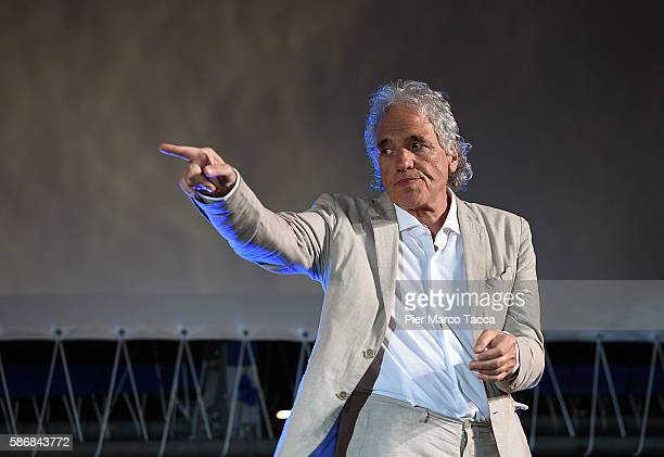Abel Ferrara attends the Lifetime Achievement Award ceremony during the 69th Locarno Film Festival on August 6, 2016 in Locarno, Switzerland.