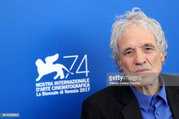 Abel Ferrara attends the 'Piazza Vittorio' photocall during the 74th Venice Film Festival at Sala Casino on September 8 2017 in Venice Italy
