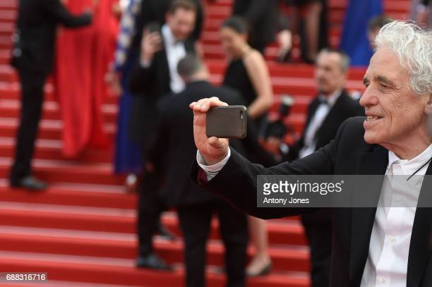 Abel Ferrara attends the 'Twin Peaks' screening during the 70th annual Cannes Film Festival at Palais des Festivals on May 25 2017 in Cannes France