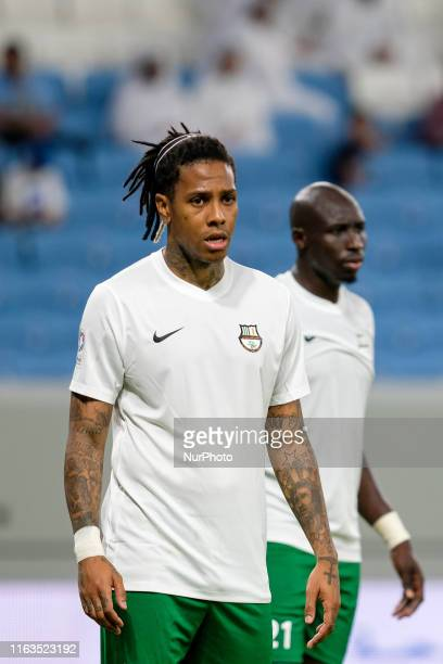 Abel Hernandez during opening match of the Qatar Stars League between Al Arabi and Al Ahli at the Al Janoub Stadium in Al Wakrah, Qatar on 23 August...