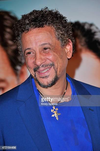 Abel Jafri attends the 'Un Peu Beaucoup Aveuglement' Paris Premiere at Cinema Gaumont Capucines on May 4 2015 in Paris France