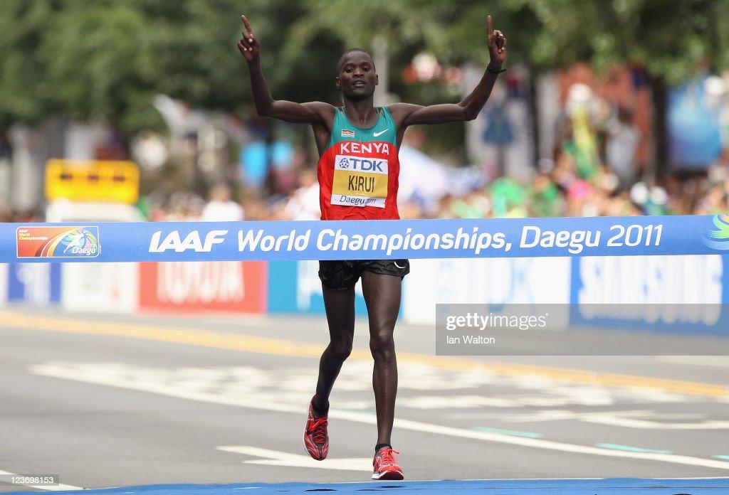13th IAAF World Athletics Championships Daegu 2011 - Day Nine
