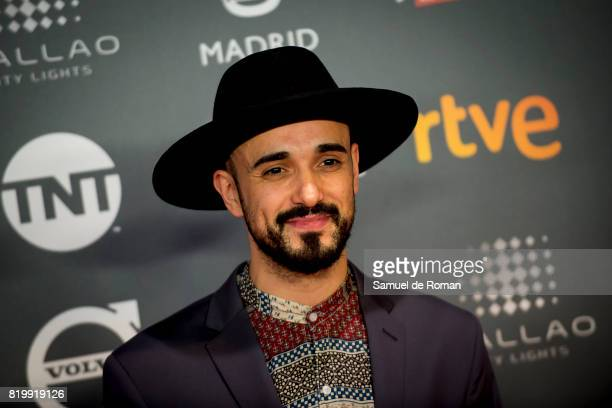 Abel Pintos attends the Platino Awards 2017 Welcome Party on July 20 2017 in Madrid Spain