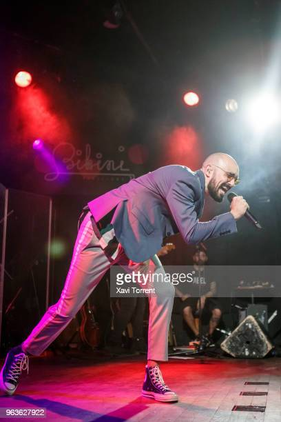 Abel Pintos performs in concert at Bikini on May 29 2018 in Barcelona Spain