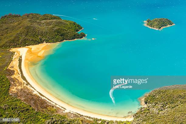 Abel Tasman National Park from the sky