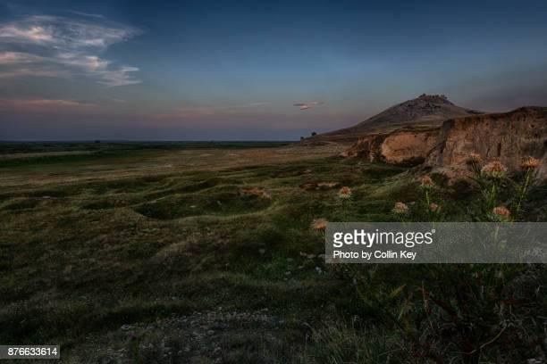 abenddämmerung an der schwarzmeerküste - collin key stock-fotos und bilder