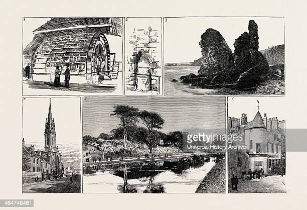 1 Waterwheel At The Grandhol Tweed Mills 2 The Langstane In The Windmill Brae 3 The Rocks At Muchalls 4 The Roman Catholic Cathedral 5 A Glimpse In...