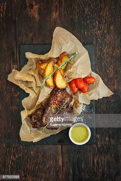 Aberdeen angus beef ribs