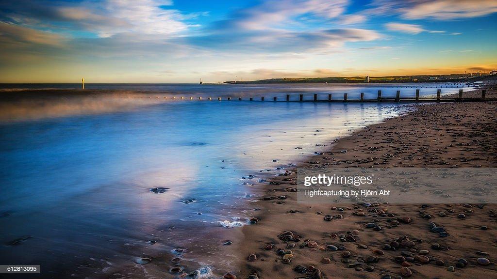 Aberdeen Beach : Stock-Foto