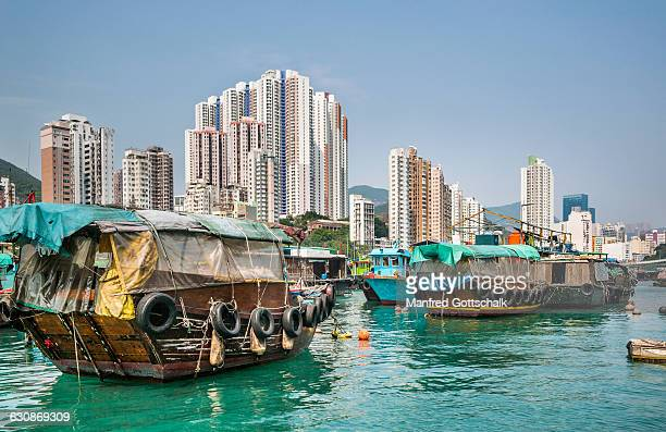 Aberdeen floating sampan village