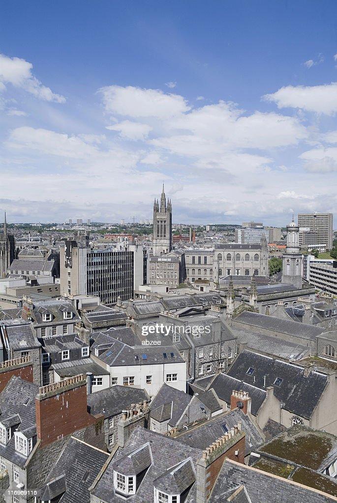Aberdeen Dächer : Stock-Foto