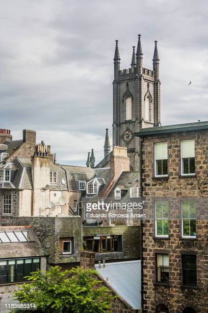 aberdeen streets - aberdeen scotland stock pictures, royalty-free photos & images