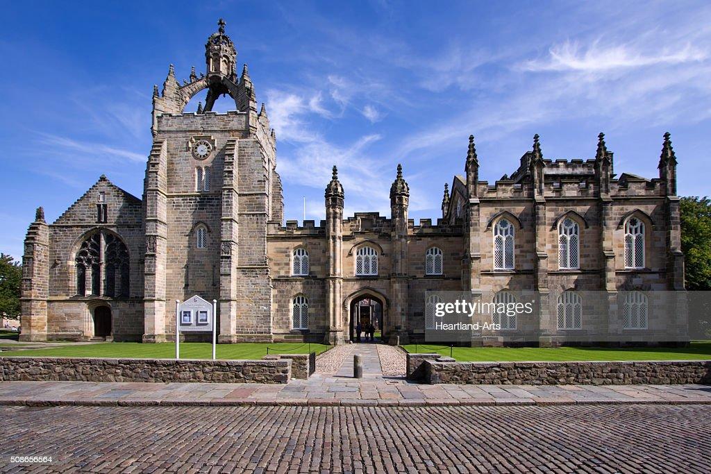 Aberdeen University King's College Chapel Building : Stock Photo