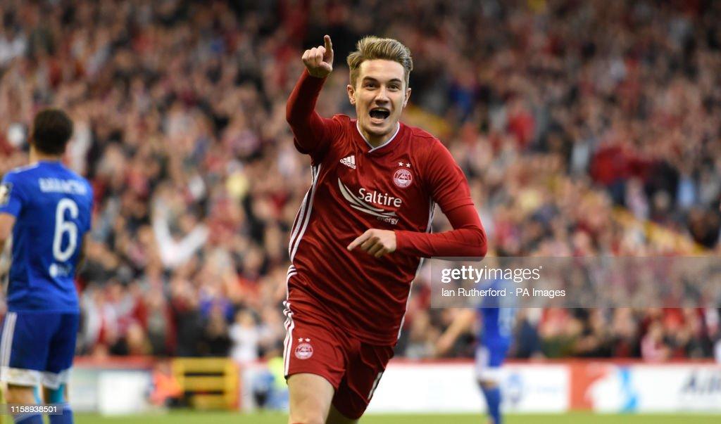 Aberdeen v Chikhura Sachkhere - UEFA Europa League - Second Qualifying Round - Second Leg - Pittodrie Stadium : News Photo