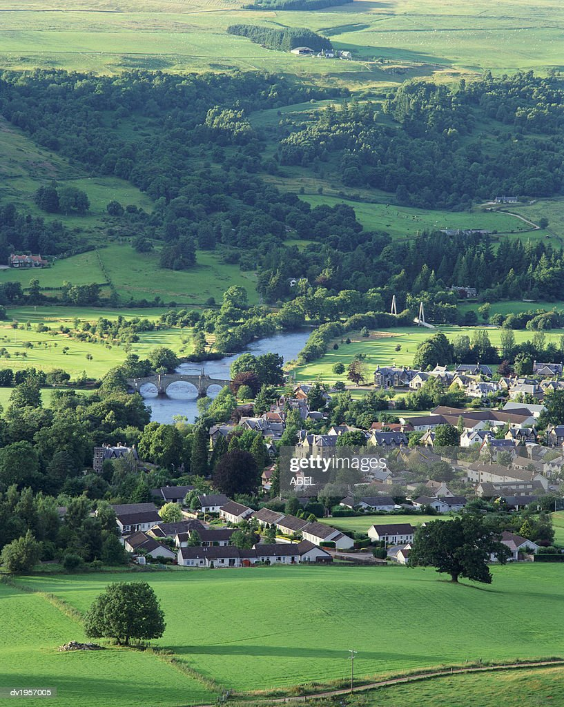 Aberfeldy, Perthshire, Scotland : Stock Photo