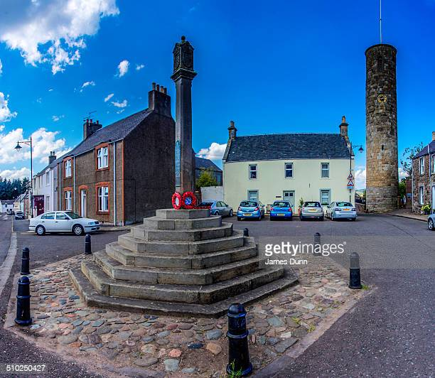 Abernethy Round Tower is one of only two such towers in Scotland The other one is at Brechin and are are thought to have served as the bell tower for...