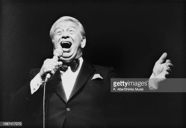 Mel Torme performing at The Fujitsu Concord Jazz Festival In Japan '90 Tokyo November 11 1990