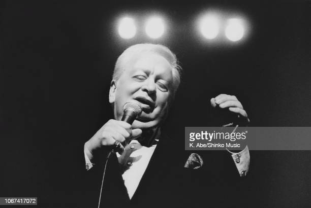 Abe/Shinko Music/Getty Images: Mel Torme performing at The Fujitsu Concord Jazz Festival In Japan '92, Tokyo, October 29 1992.
