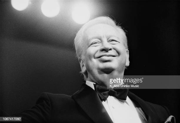 Abe/Shinko Music/Getty Images: Mel Torme performing at The Fujitsu Concord Jazz Festival In Japan '92, Tokyo, November 14 1992.