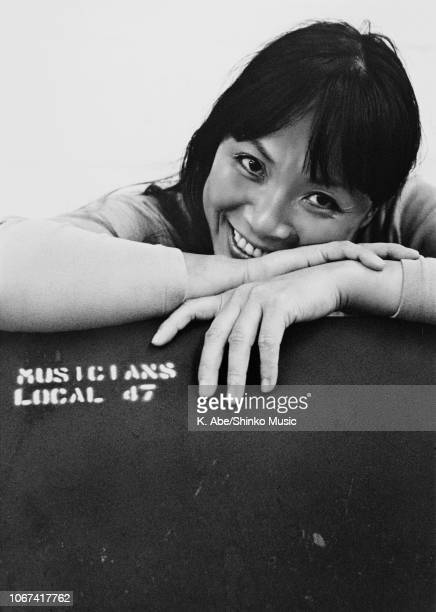 Portrait of Toshiko Akiyoshi circa 1974 Pictures used on the cover of the album 'Lew Tabackin Big Band'