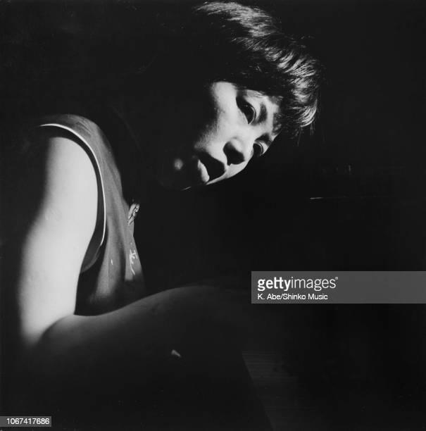 Toshiko Akiyoshi performing on stage circa 1970s