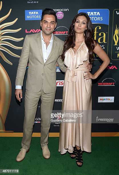 Abhay Deol arrives to the IIFA Awards at Raymond James Stadium on April 26 2014 in Tampa Florida