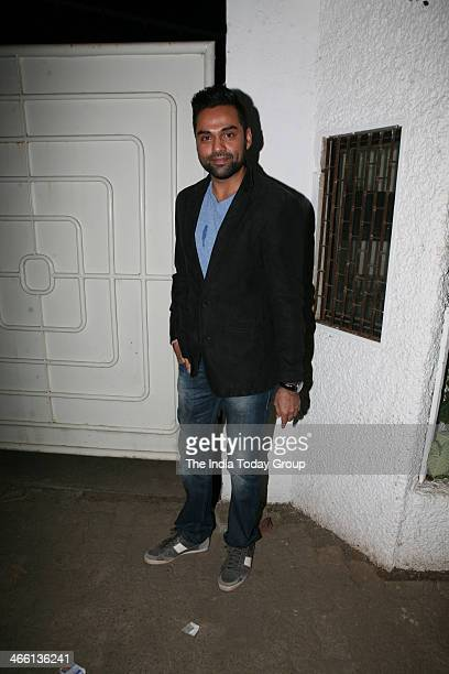 Abhay Deol at the Special Screening of film One by Two at Sanny super sound studio Juhu Mumbai on 30th January 2014