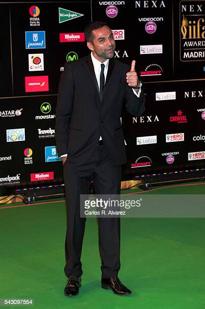 Abhay Deol attends the 17th IIFA Awards at Ifema on June 25 2016 in Madrid Spain