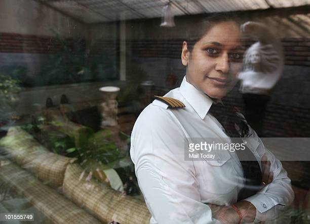Abheepsa Gupta commander Indian Airlines poses for a picture in New Delhi Abheepsa feels that woman pilots lose out on the career front when they...