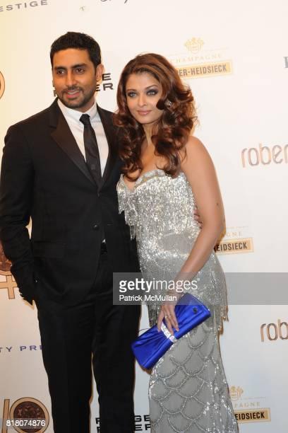 Abhishek Bachan and Aishwarya Rai attend ROBERTO CAVALLI 40th Anniversary Event CONTACT SIPA PRESS FOR SALES at Les BeauxArts de Paris on September...