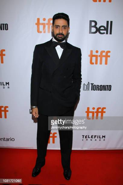 Abhishek Bachchan attends the 'Husband Material' Premiere during 2018 the Toronto International Film Festival at Roy Thomson Hall on September 11...