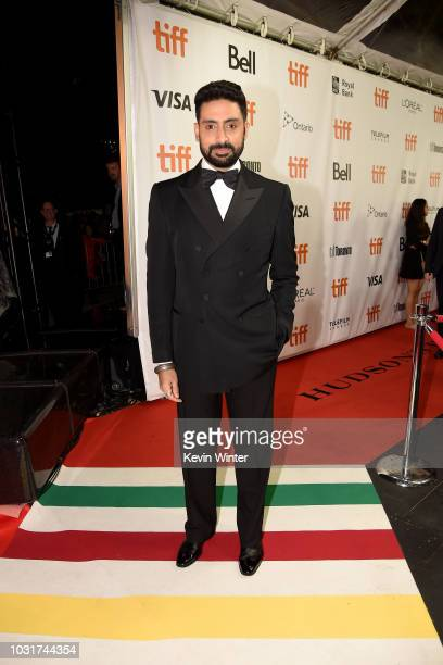 Abhishek Bachchan attends the 'Husband Material' premiere during 2018 Toronto International Film Festival at Roy Thomson Hall on September 11 2018 in...