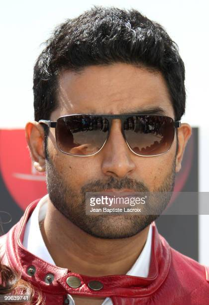 Abhishek Bachchan attends the 'Raavan' Photocall at the Salon Diane at The Majestic during the 63rd Annual Cannes Film Festival on May 17 2010 in...