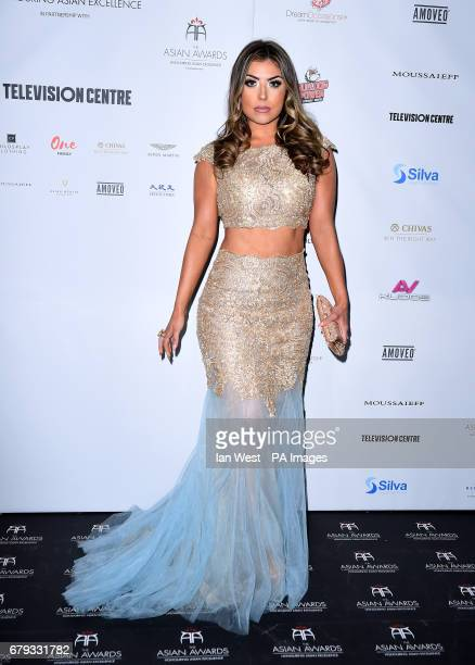Abi Clarke attending the 7th annual Asian Awards at the Hilton Hotel Park Lane London