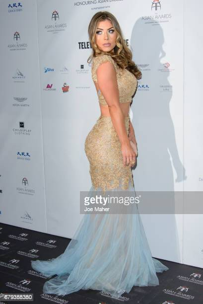 Abi Clarke attends The Asian Awards at Hilton Park Lane on May 5 2017 in London England