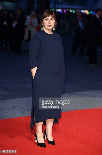 Abi Morgan attends a screening of Suffragette on the opening night of the BFI London Film Festival at Odeon Leicester Square on October 7 2015 in...