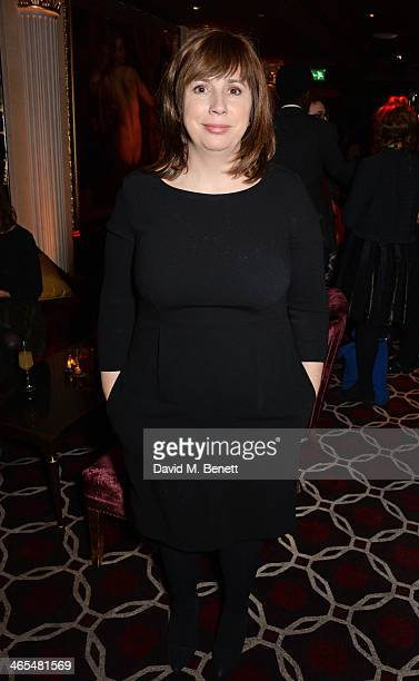 Abi Morgan attends an after party celebrating the UK Premiere of 'The Invisible Woman' at No 41 Mayfair on January 27 2014 in London England