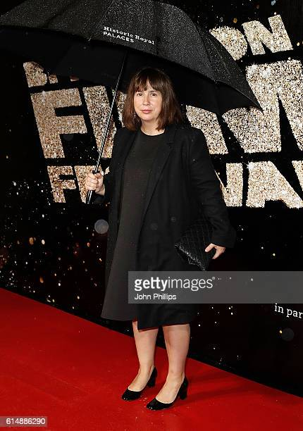 Abi Morgan attends the BFI London Film Festival Awards during the 60th BFI London Film Festival at Banqueting House on October 15 2016 in London...