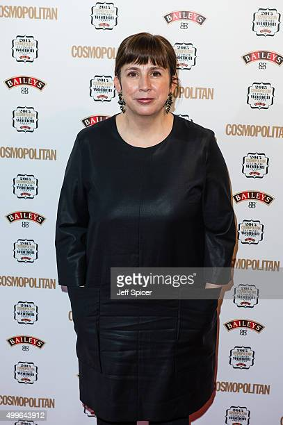 Abi Morgan attends the Cosmopolitan Ultimate Women of the Year Awards at One Mayfair on December 2 2015 in London England