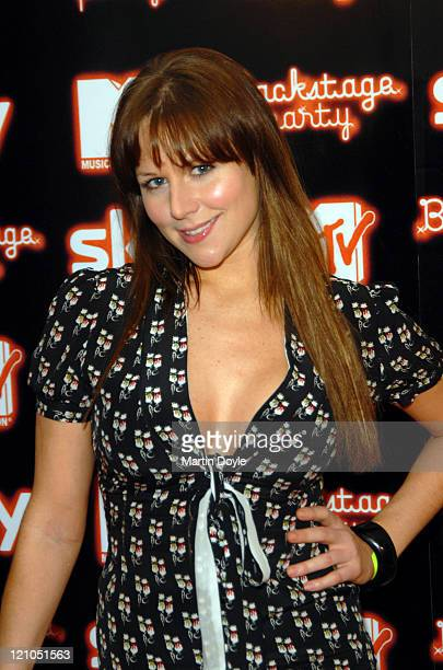 Abi Titmus during 2006 MTV European Music Awards Copenhagen Backstage Party Arrivals at Sound in London Great Britain