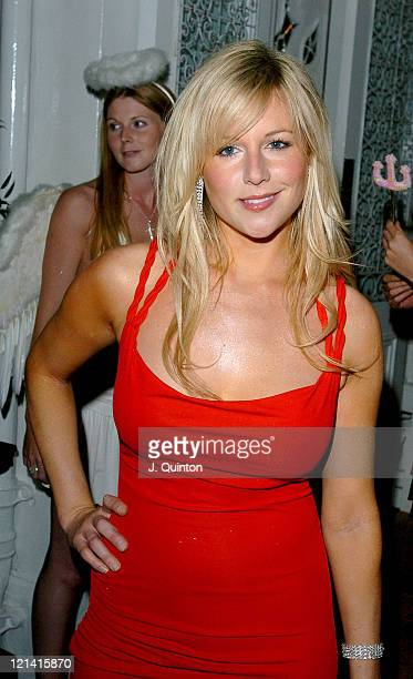Abi Titmus during Jennifer Ellison 21st Birthday Party at Jewel Nightclub in London Great Britain