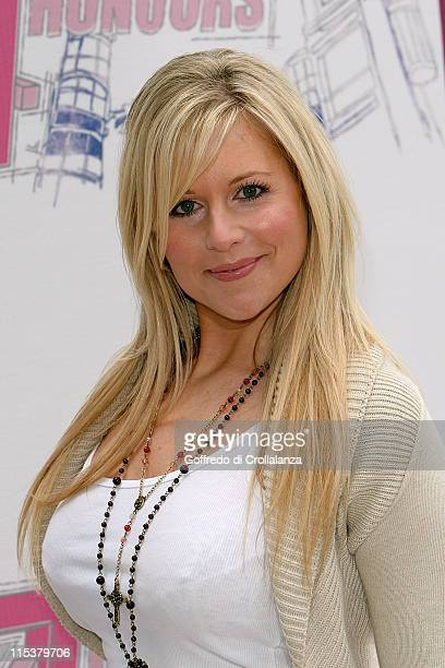Abi Titmus during The 2005 T4 Honours Arrivals at Channel 4 Tv Studios in London United Kingdom