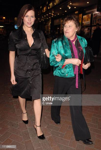 Abi Titmuss and Mother during 'Angie' in 'Two Way Mirror' Press Night - After Party - March 2, 2006 at Royal Blue in London, Great Britain.