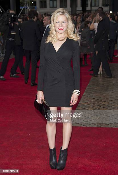 Abi Titmuss Arriving At The Dictator Uk Film Premiere Held At The Royal Festival Hall London