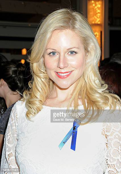 Abi Titmuss attends an after party celebrating the press night performance of 'The King's Speech' at The Langham Hotel on March 27 2012 in London...