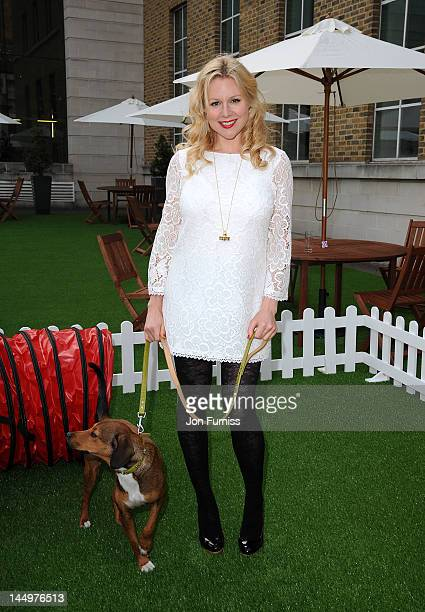 Abi Titmuss attends the 21st Dog Trust Awards at Honourable Artillery Company on May 21 2012 in London England
